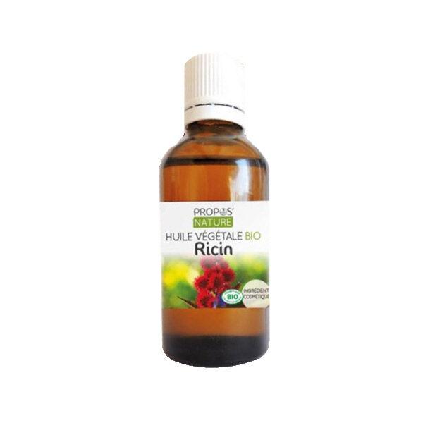 Propos'Nature Huile Végétale Ricin Bio 50ml