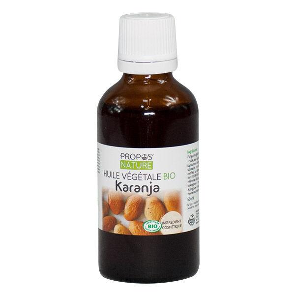Propos'Nature Huile Végétale Karanja Bio 50ml