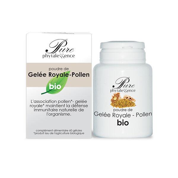 Phytalessence Gelée Royale Pollen Bio 60 gélules