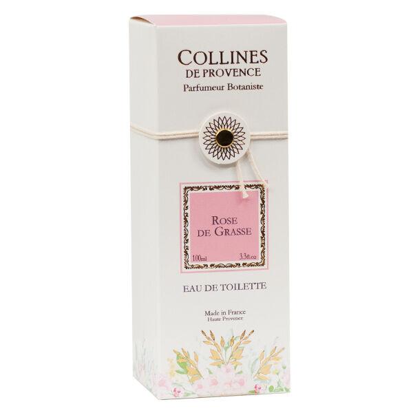 Collines de Provence Eau de Toilette Rose de Grasse 100ml