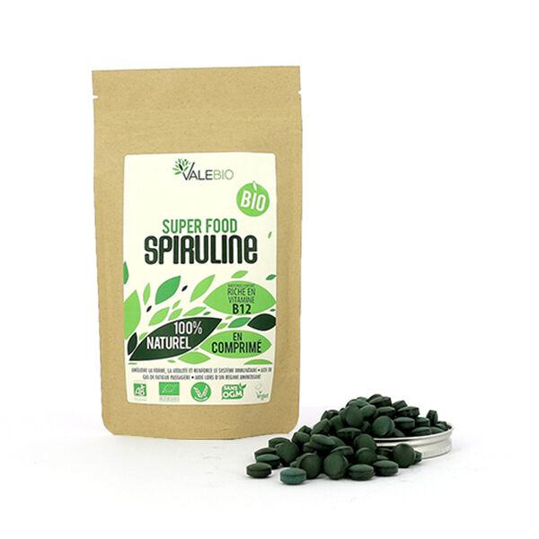 Valebio Spiruline 500mg Bio 240 comprimés