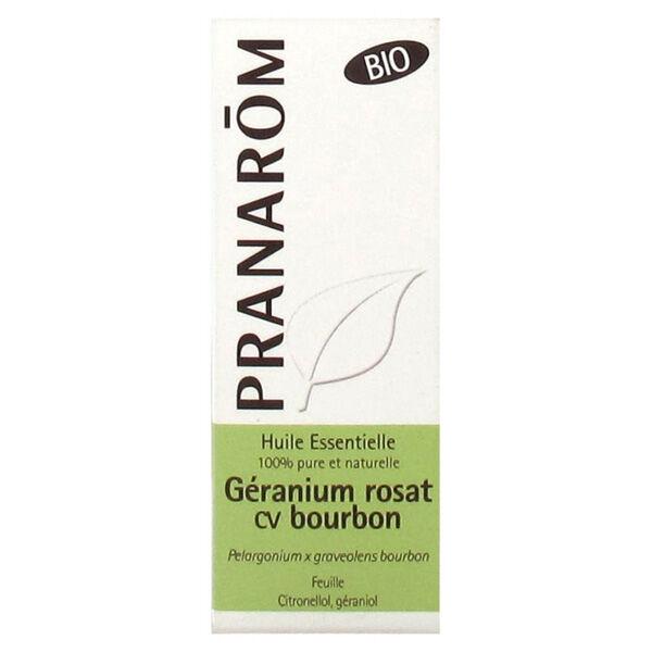 Pranarom Huile Essentielle Bio Géranium Rosat cv Bourbon 10ml