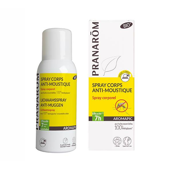 Pranarom Spray Corps Anti-moustique 75ml