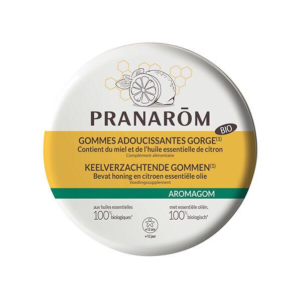 Pranarom Aromagom Gommes Miel / Citron 45g
