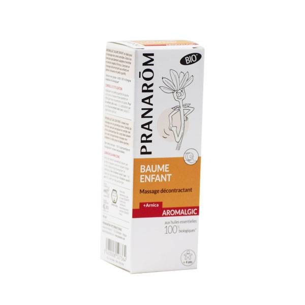 Pranarom Aromalgic Baume Enfant Massage Décontractant Bio 40ml