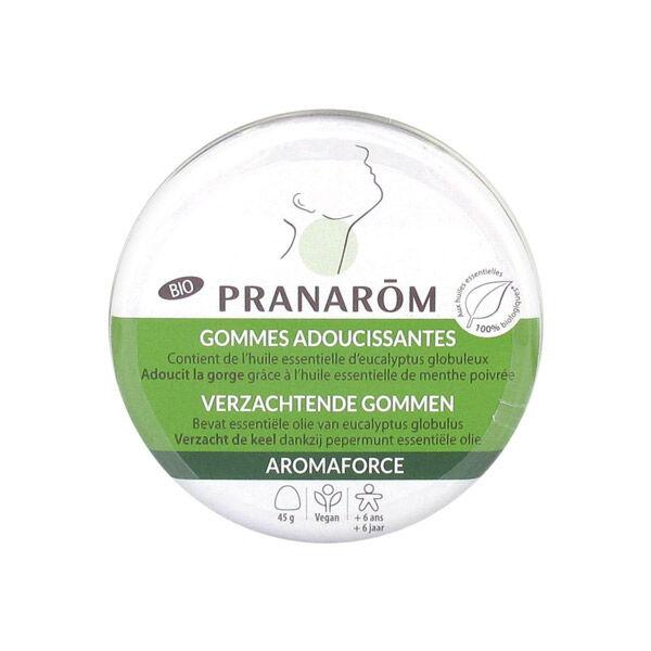 Pranarom Aromaforce Gommes Adoucissantes Bio 45g