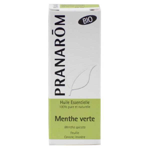 Pranarom Huile Essentielle Menthe Verte Partie Aérienne Bio 10ml