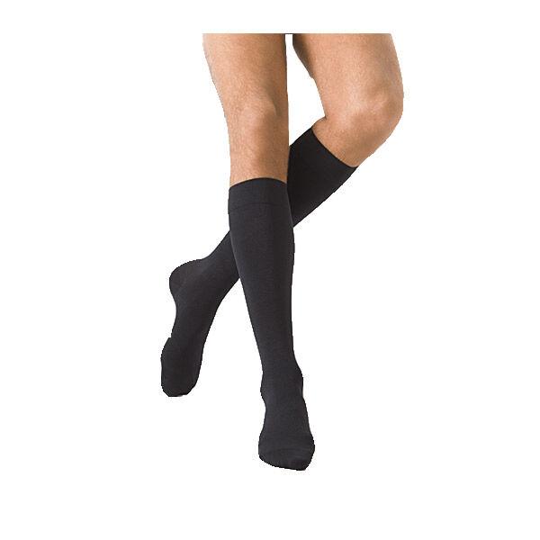 Sigvaris Essentiel Microfibres Chaussettes Homme Medium Long Noir