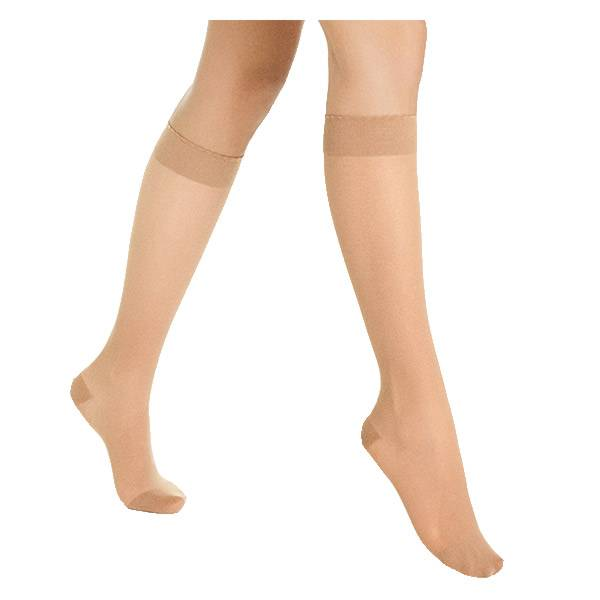Sigvaris Styles Transparent Chaussettes Classe 2 Normal Taille XL Beige 130
