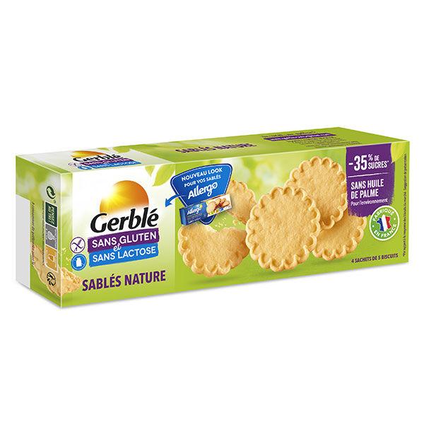 Gerblé Sans Gluten & Sans Lactose Sablés Nature 120g