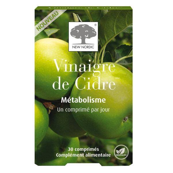 New Nordic Vinaigre de Cidre Métabolisme 30 comprimés