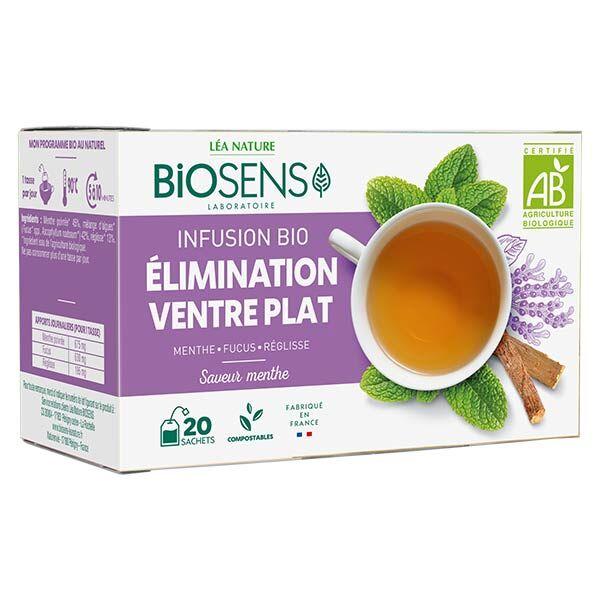Biosens Infusion Elimination Ventre Plat Bio 30g