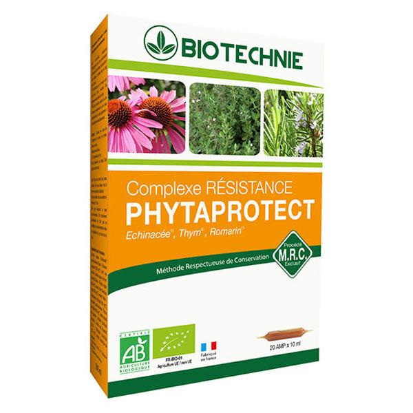 Biotechnie Complexe Résistance Bio 20 ampoules