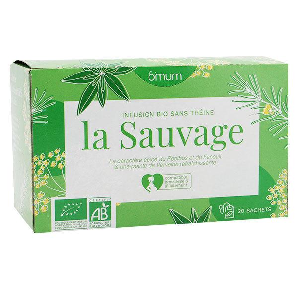 Omum Infusion La Sauvage Bio 20 sachets