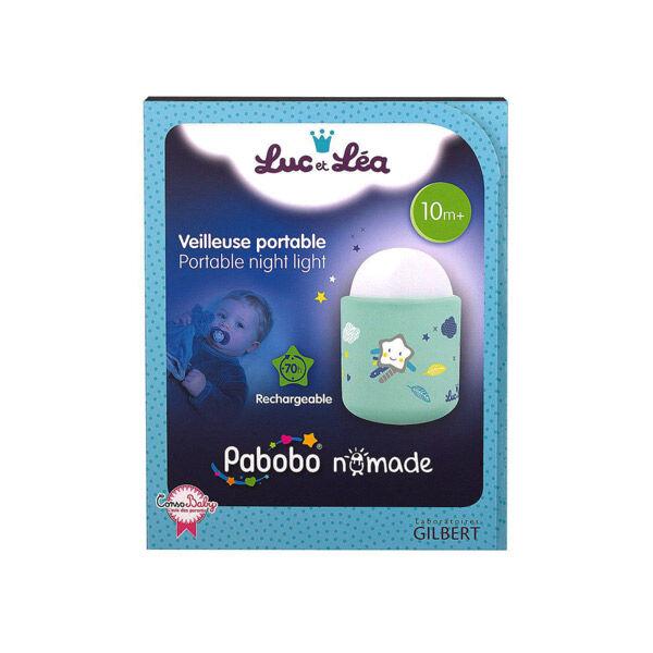 Luc et Léa Veilleuse Portable +10m Bleu Turquoise