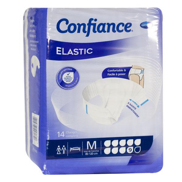 Hartmann Confiance Elastic 9 Gouttes Taille M 14 changes complets
