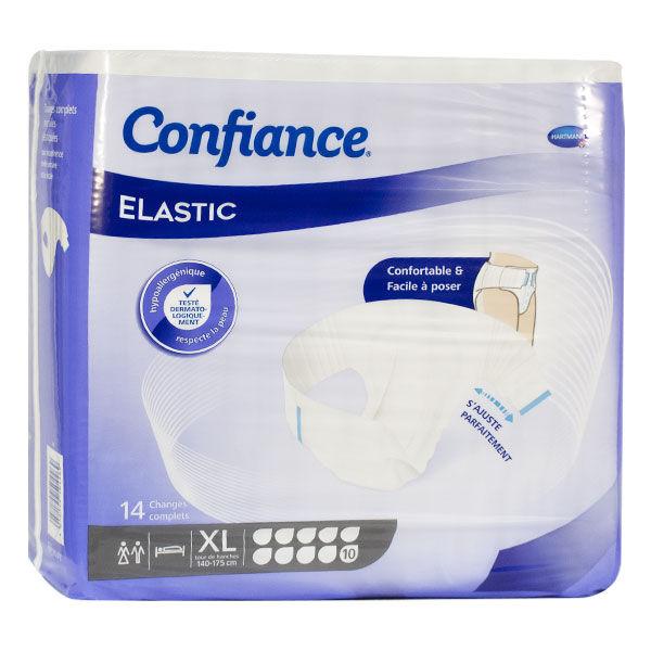Hartmann Confiance Elastic 10 Gouttes Taille XL 14 changes complets