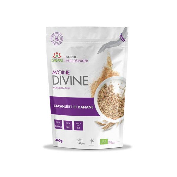 Iswari Avoine Divine Cacahuète et Banane 360g