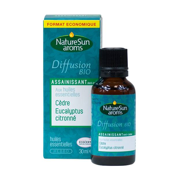NatureSun Aroms Complexe Diffusion Bio Assainissant Anti-tabac 30ml