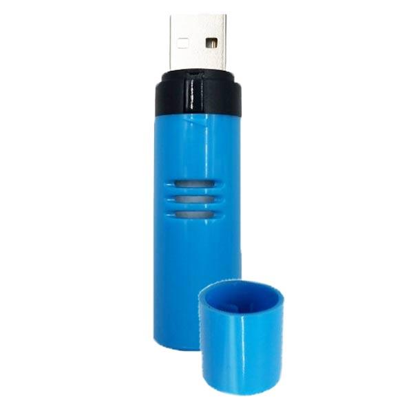NatureSun Aroms Diffuseur Huiles Essentielles Port USB n°15 Bleu Azur