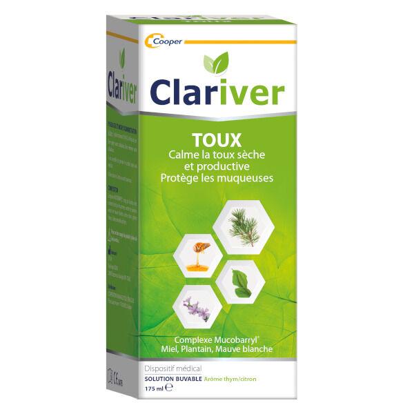 Clariver Cooper Clariver Toux Solution Buvable dès 12 ans 175ml