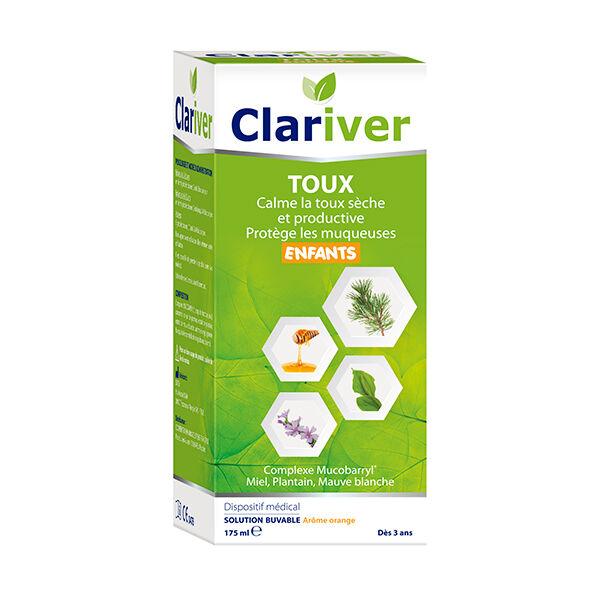Cooper Clariver Toux Solution Buvable dès 3 ans 175ml