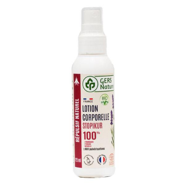 Comptoir de l Apothicaire Gers Nature Stopikur Lotion Corporelle Anti Moustiques Bio 125ml