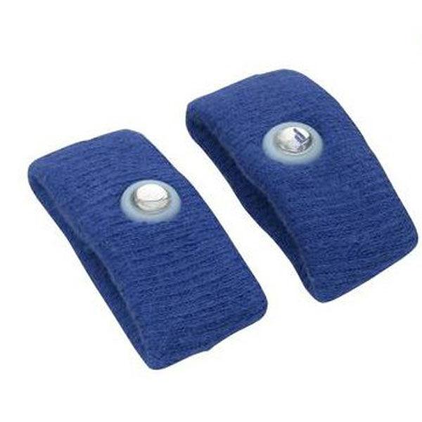 Pharmavoyage Paire de Bracelets Anti-nausées Bleu Taille L