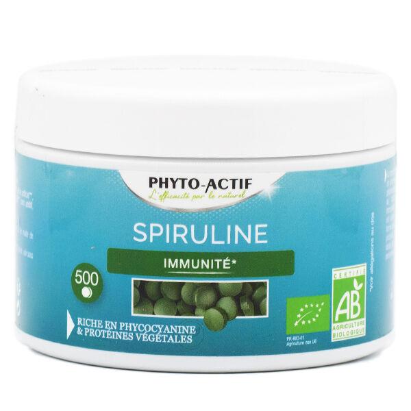 Phyto-Actif Phyto Actif Spiruline Bio 500 comprimés