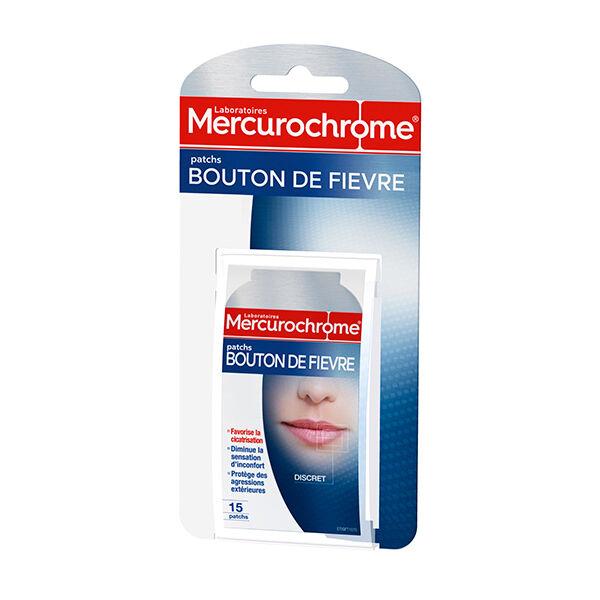 Mercurochrome Patchs Bouton de Fièvre 15 patchs