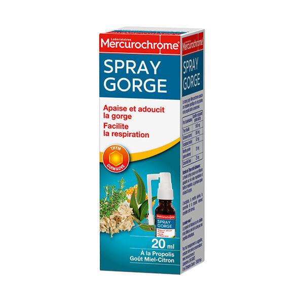 Mercurochrome Spray Gorge Propolis Miel-Citron 20ml