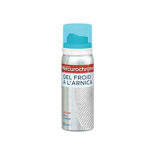 Mercurochrome Gel Froid à l'Arnica Effet Crépitant 50ml