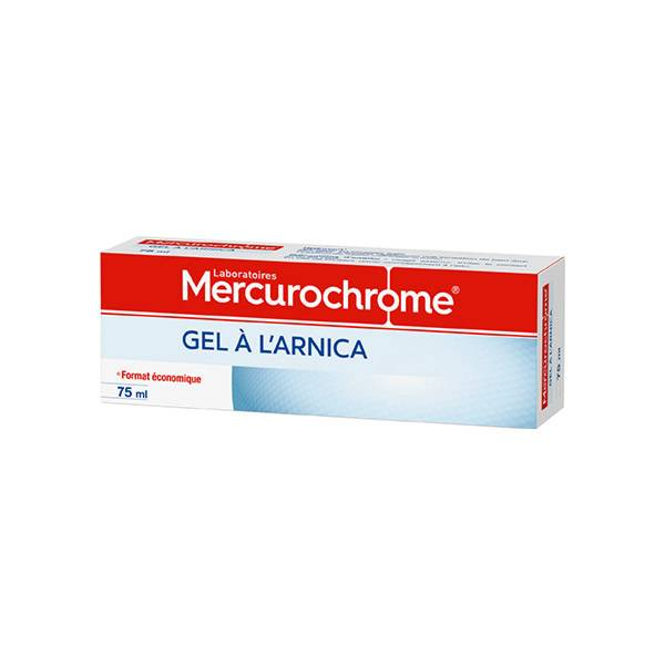 Mercurochrome Gel à l'Arnica 75ml