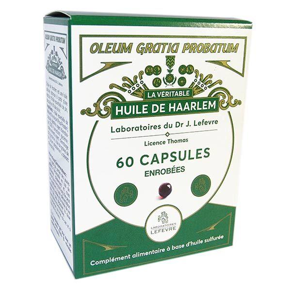 Lefevre Huile de Haarlem 60 capsules enrobées