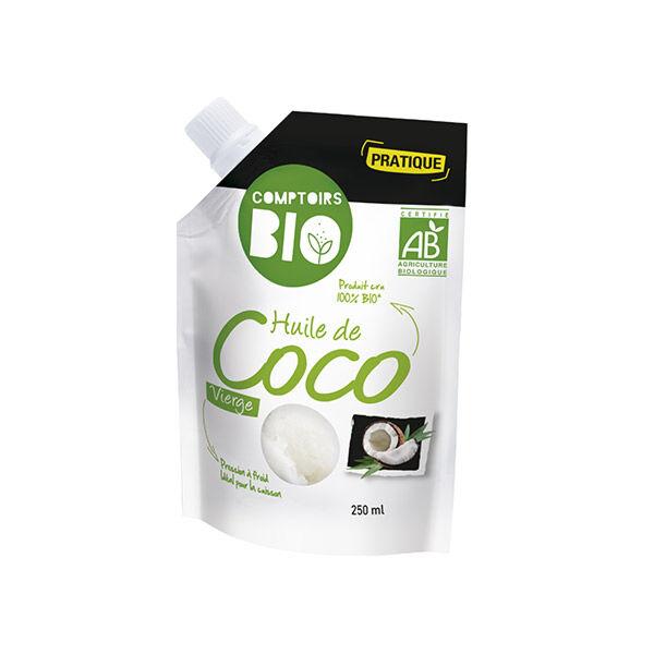 Comptoirs Bio Huile de Coco Vierge 250ml
