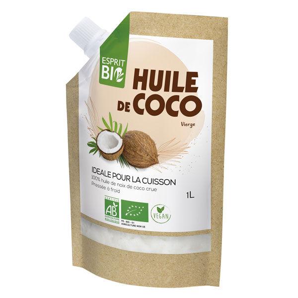 Esprit Bio Huile de Coco Bio 1L