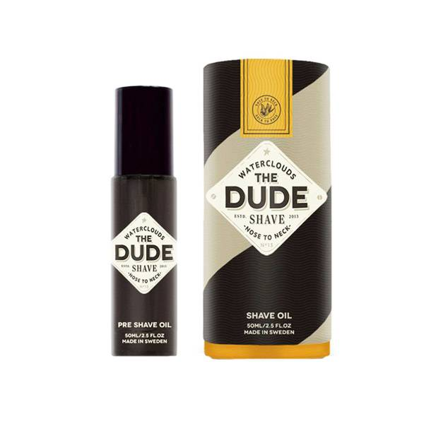 Waterclouds The Dude Shave Huile de Rasage 50ml