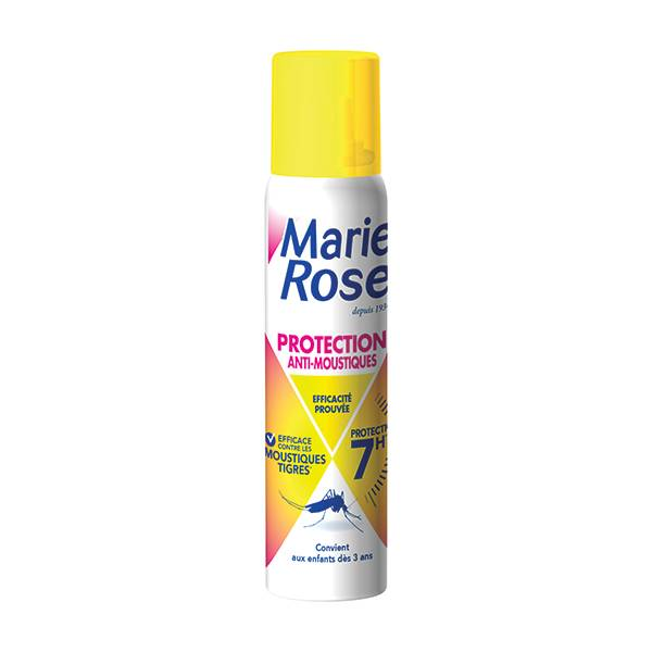 Marie Rose Spray Protection Anti-Moustiques 100ml