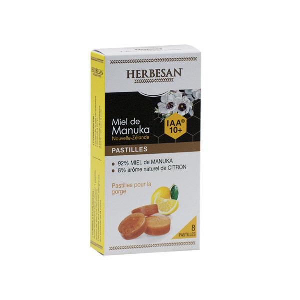 Herbesan Miel de Manuka IAA10+ Pastilles Gout Citron 20g