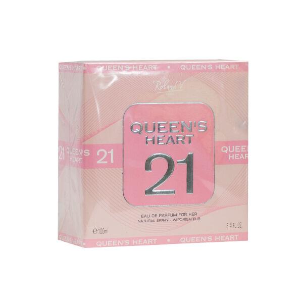 Queen's Heart 21 Parfum Rose Musquée 100ml