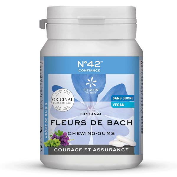 Lemon Pharma Fleurs de Bach Chewing Gums Confiance en Soi n°42