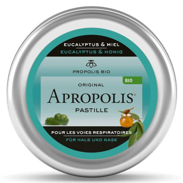 Lemon Pharma Acropolis Pastilles Miel et Eucalyptus Bio 40g