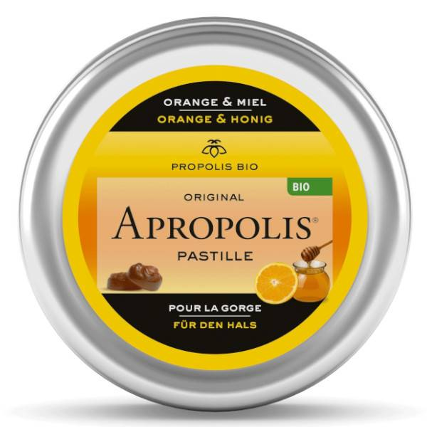 Lemon Pharma Apropolis Pastilles Miel et Orange Bio 40g
