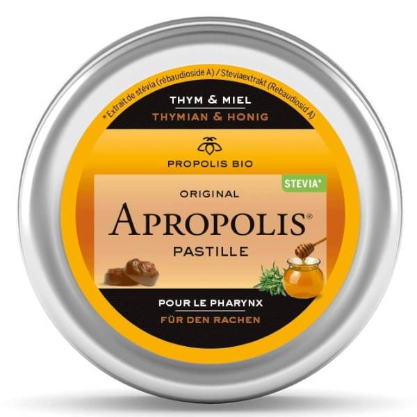 Lemon Pharma Acropolis Pastilles Miel et Thym Bio 40g