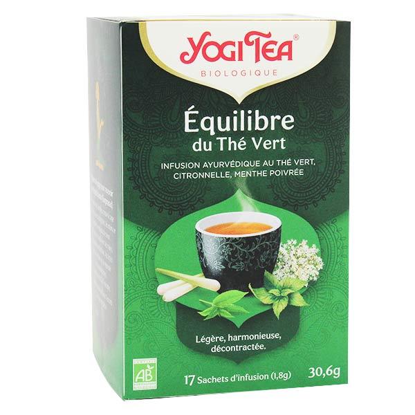 Yogi Tea Equilibre Thé Vert 17 sachets