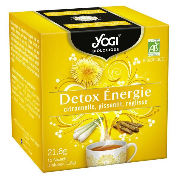 Yogi Biologique Yogi Infusions Détox Énergie Bio 12 sachets