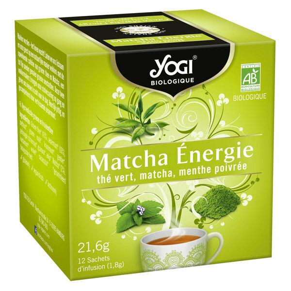 Yogi Biologique Infusion Matcha Energie Bio 12 sachets