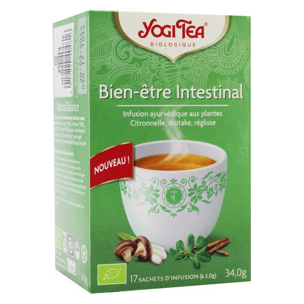 Yogi Tea Bien-Être Intestinal Infusion Ayurvédique Bio 17 sachets