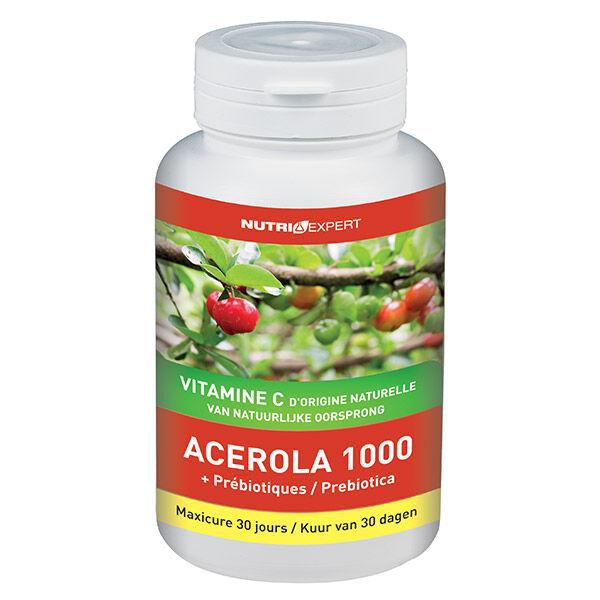 Nutriexpert Acerola 1000+ Prébiotiques 60 comprimés