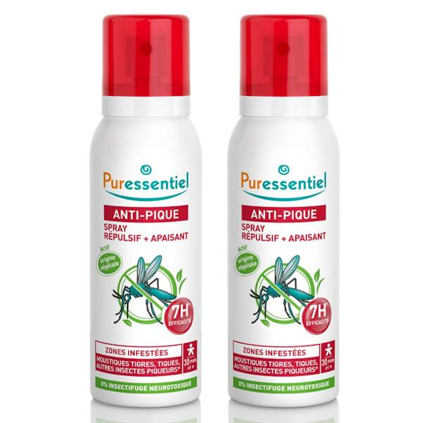 Puressentiel Anti-Pique Spray Lot de 2 x 75ml